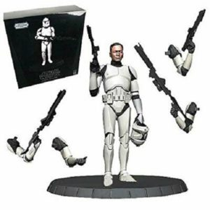 CLONE TROOPER STATUE WHITE DELUXE Statue 1/6 - STAR WARS - Gentle Giant