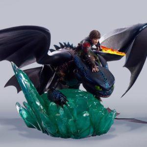 Krokmou & Harold Statue - Dragons – TAKA Corp.