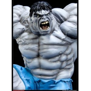 Hulk Polystone Statue Comiquette (Grey Variant) - SIDESHOW COLLECTIBLES