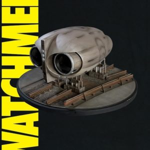 Watchmen: Owl Ship 1:24 scale Replica DC Comics - DC DIRECT