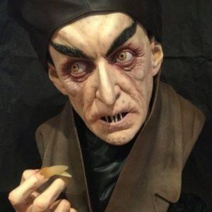 Nosferatu Count Orlok Life-size Bust MAX SCHRECK - Black Heart Enterprises (SIDESHOW COLLECTIBLES)