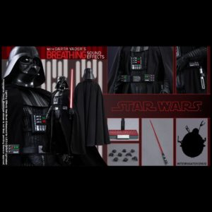 DARTH VADER 1/6 Scale Figurine MMS279 - STAR WARS: EPISODE IV A NEW HOPE - HOT TOYS