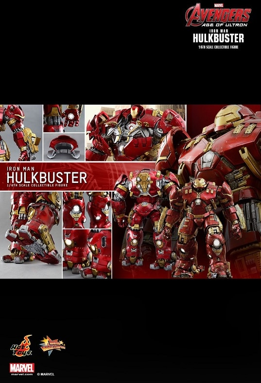 HULKBUSTER 1/6TH Scale Figure MMS285 - AVENGERS : AGE OF ULTRON - HOT TOYS