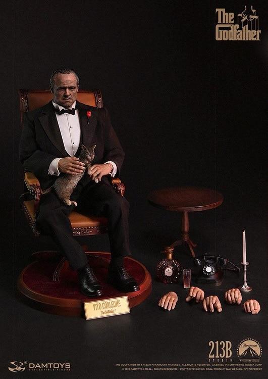 Le Parrain figurine 1/6 Scale Vito Corleone - DAMTOYS