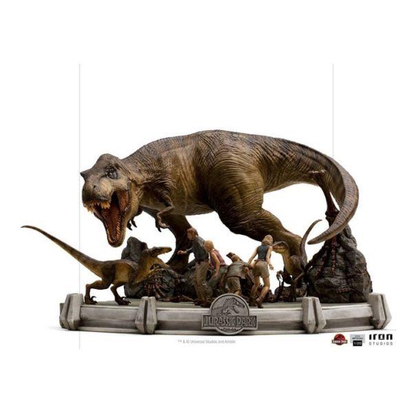 The Final Scene Demi Art Scale Statue 1/20 – Jurassic Park - Iron Studios