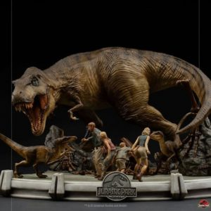 The Final Scene Demi Art Scale Statue 1/20 – Jurassic Park - Iron Studios