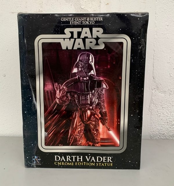 Darth Vader Chrome Edition Limited Statue - STAR WARS - Gentle Giant
