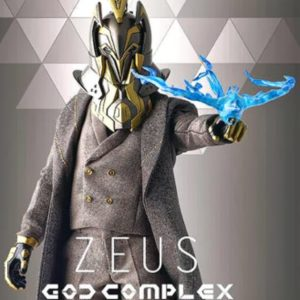 Zeus 1/6th Scale Collectible Figure God Complex - Glitch Sixthvision - FOXBOX STUDIO