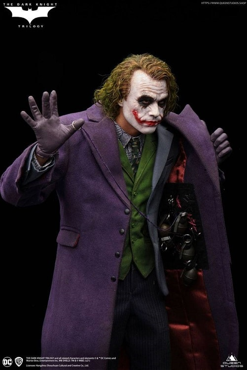 The Dark Knight statue 1/4 Heath Ledger Joker Artist Edition – QUEEN STUDIOS