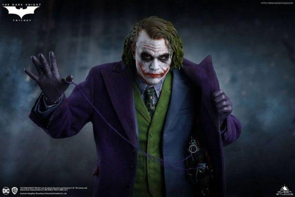 The Dark Knight statue 1/4 Heath Ledger Joker Regular Edition – QUEEN STUDIOS