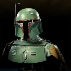 BOBA FETT Life size bust First Version - Star Wars - Sideshow collectibles