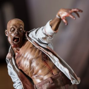 Patient Zéro Premium Format Figure Collector Edition- The Dead - Sideshow Collectibles