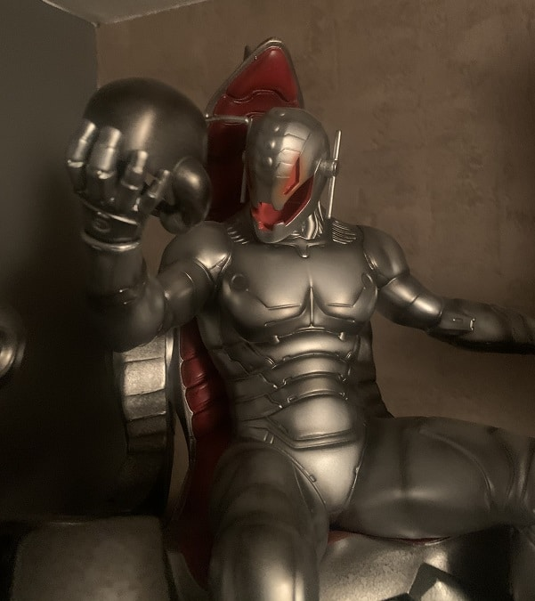 Classic Ultron on Throne Comiquette Polystone Statue Collector Edition - SIDESHOW COLLECTIBLES