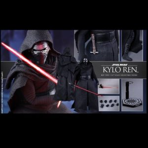KYLO REN MMS320 1/6 Scale Figure - STAR WARS: THE FORCE AWAKENS- HOT TOYS
