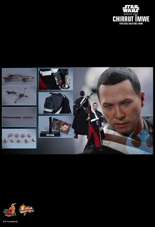 CHIRRUT ÎMWE (DELUXE VERSION) MMS403 1/6 Scale Figure - ROGUE ONE: A STAR WARS STORY - HOT TOYS