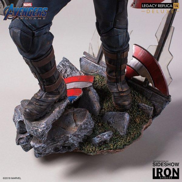 Captain America Deluxe Version 1:4 Legacy Replica - Avengers: Endgame - Iron Studios