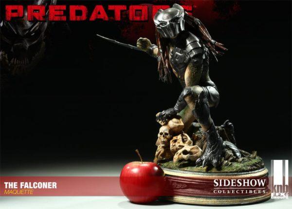 Predator The Falconer Maquette Collector Edition- PREDATORS - Sideshow Collectibles