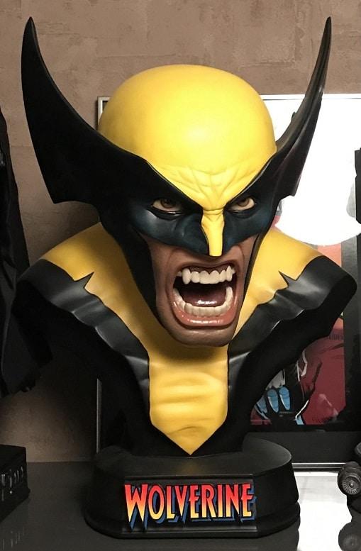 WOLVERINE BERSERKER RAGE LIFE-SIZE BUST - X-Men - Sideshow Collectibles
