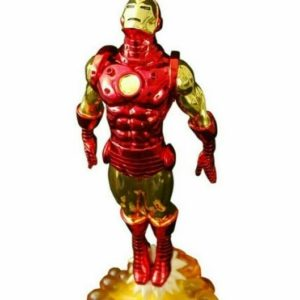 Iron Man Classic Statue Milestones Electroplated - Marvel - Diamond Select