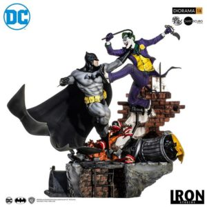 BATMAN VS JOKER 1/6 Statue Battle Diorama – DC Comics – Iron Studios