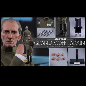 GRAND MOFF TARKIN 1/6TH SCALE FIGURE MMS433 - STAR WARS: EPISODE IV A NEW HOPE - HOT TOYS