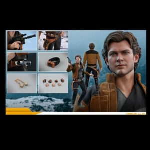 HAN SOLO MMS491 1/6 Scale Figurine - SOLO: A STAR WARS STORY - HOT TOYS