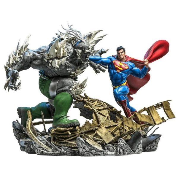 Superman vs Doomsday 1/6 Statue Battle Diorama By Ivan Reis – DC Comics – Iron Studios