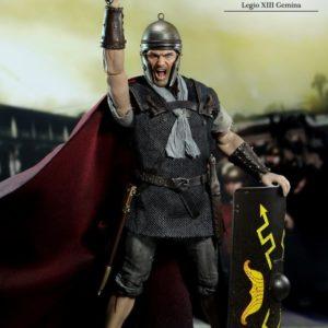 LEGIONARY TITUS ROMAN REPUBLIC LEGIO XIII GEMINA 1/6th Scale Figure - ACI Toys