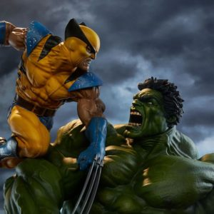 Hulk and Wolverine Maquette Exclusive Edition - Sideshow Collectibles