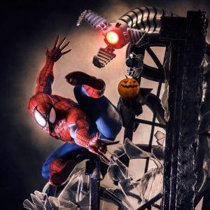 Spider-Man Polystone Statue Legacy Replica - Marvel - IRON STUDIOS