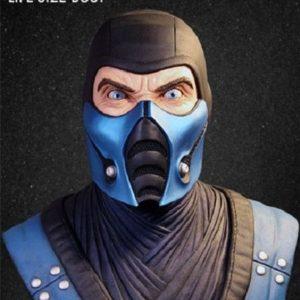 Sub-Zero Life-Size Bust - Mortal Kombat - Pop Culture Shock PCS