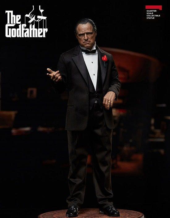 The Godfather (Le Parrain) 1972 Vito Corleone 1/4th Superb Scale Statue - BLITZWAY