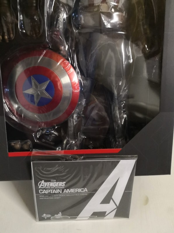 CAPTAIN AMERICA 1/6TH SCALE MMS281 - AVENGERS: AGE OF ULTRON- HOT TOYS