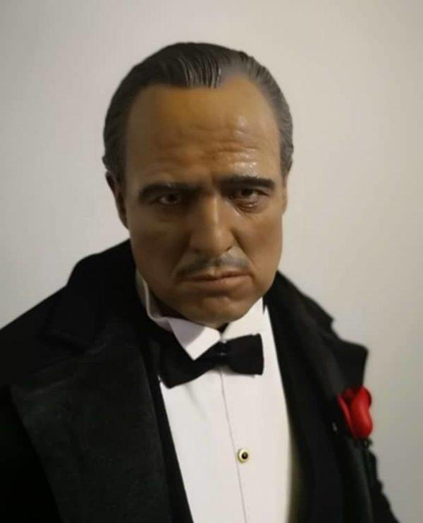 The Godfather 1972 Vito Corleone 1/4th Superb Scale Statue - BLITZWAY