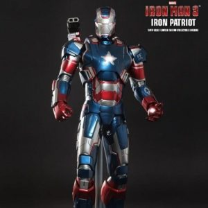 IRON PATRIOT 1/6TH SCALE MMS195D01 - IRON MAN 3 - HOT TOYS