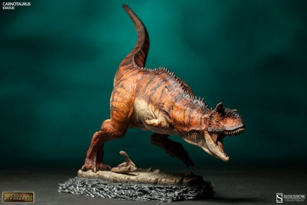 Carnotaurus Statue - Dinosauria collection - Sideshow Collectibles