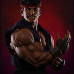 Evil Ryu 1:3 Scale Statue Exclusive Version - Street Fighter - Pop Culture Shock PCS