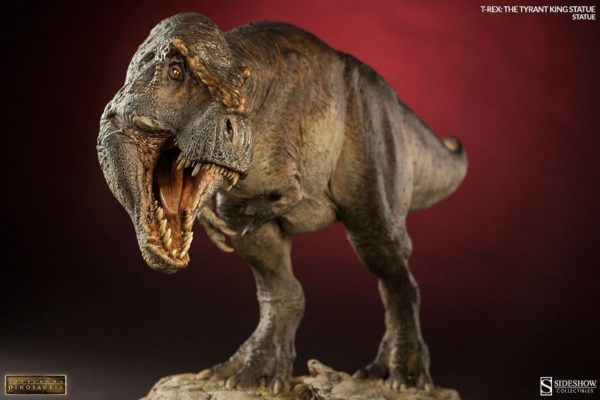 T-rex The Tyrant King Statue Collector Edition - Dinosauria collection - Sideshow Collectibles