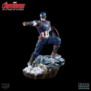 Captain America 1:4 Scale Statue - Avengers Age of Ultron - Iron Studios