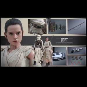REY 1/6TH SCALE FIGURE MMS336 - STAR WARS: THE FORCE AWAKENS - HOT TOYS