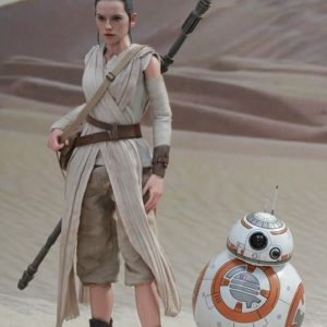 REY AND BB-8 SET 1/6TH SCALE FIGURE MMS337 - STAR WARS: THE FORCE AWAKENS - HOT TOYS