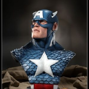 Captain America LIFE SIZE BUST 1/1 – Sideshow Collectibles