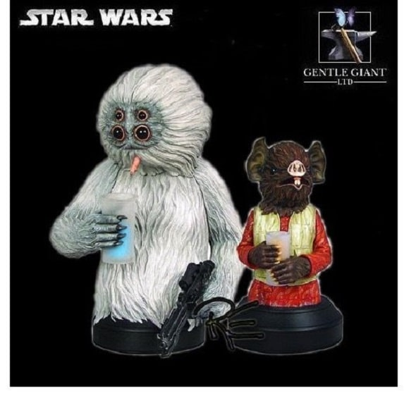 Muftak and Kabe Mini Busts 11621 - STAR WARS - GENTLE GIANT