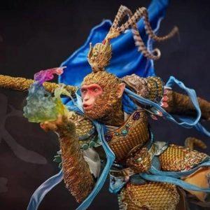 MONKEY KING 1/4 SCALE STATUE Blue Version - Mythology Series - INFINITY STUDIO