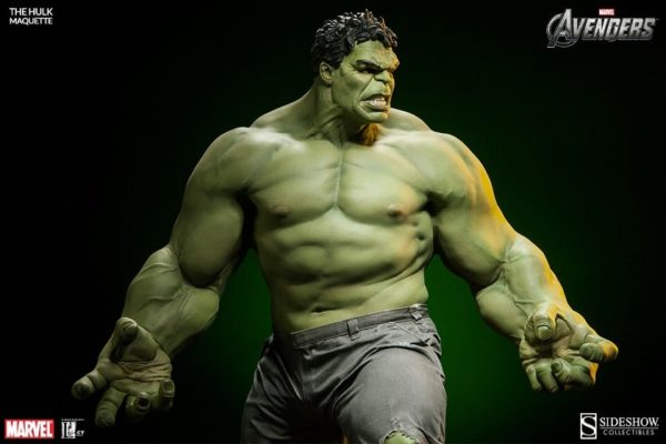 Hulk Maquette Legacy Effects - AVENGERS - Sideshow Collectibles