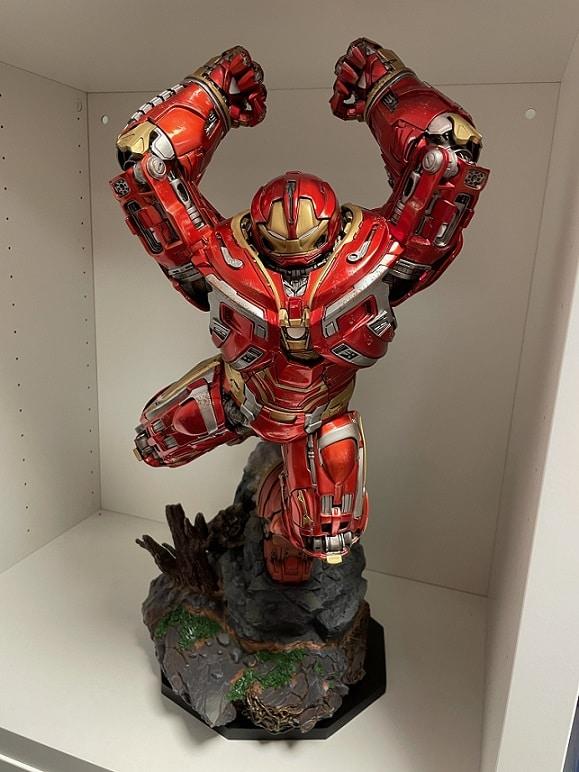 Hulkbuster 1:10 Scale Statue Battle Diorama Series - Avengers: Infinity War - Iron Studios