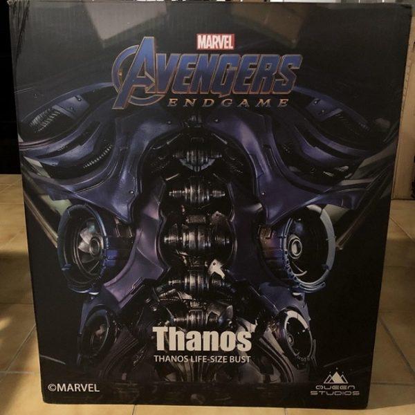 Thanos 1:1 Lifesize Bust - Avengers Endgame - QUEEN STUDIOS