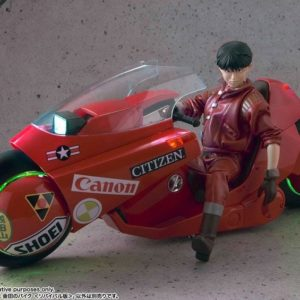 PACK Akira figurine 1/6 Shotaro Kaneda + Akira véhicule Soul of Popinica Kaneda's Bike Revival Version - MEDICOM TOY/TAMASHI NATIONS