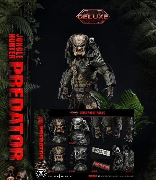 Predator Museum Masterline 1/3 Jungle Hunter Predator Deluxe Bonus Version Statue - Prime 1 Studio