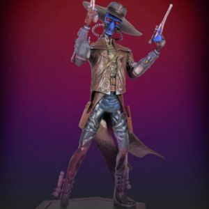 CAD BANE Animated Maquette - The Clone Wars Star Wars - Gentle Giant